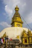 Swayambhunath Tempel Stockfotos
