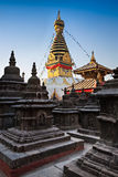 Swayambhunath Temple Royalty Free Stock Photo
