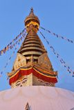Swayambhunath temple in Kathmandu Royalty Free Stock Image