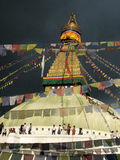 Swayambhunath Temple, Katmandu Stock Photos