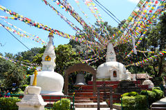 Swayambhunath Royalty Free Stock Photography