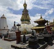 Swayambhunath & x28 Πίθηκος Temple& x29 , Κατμαντού, Νεπάλ Στοκ Εικόνα