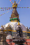 Swayambhunathstupa, Katmandu, Nepal Stock Fotografie