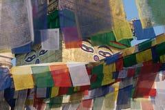 Swayambunath stupa Lizenzfreie Stockfotos