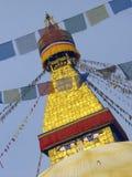 Swayambunath Stupa 免版税库存图片