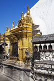 Swayambunath Temple, Kathmandu, Nepal Stock Photo