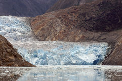 Swayer Glacier Alaska Stock Photos