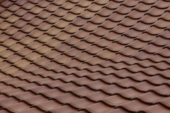 Swaying clay roof Royalty Free Stock Photos