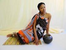 Swazi Vrouw Stock Foto's
