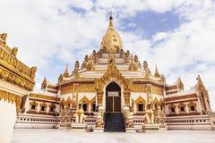 Swe Taw Myat как известно как пагода реликвии зуба Будды в Янгоне, Мьянме Стоковые Изображения RF