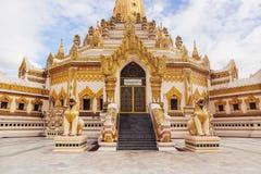 Swe Taw Myat как известно как пагода реликвии зуба Будды в Янгоне, Мьянме Стоковые Изображения