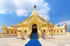 Swe Taw Myat in Yangon, Myanmar. Swe Taw Myat (Buddha Tooth Relic Pagoda) in Yangon, Myanmar Stock Images
