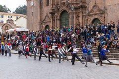 Swearing of the School Police or Juramentacion de la Policia Esc Royalty Free Stock Images