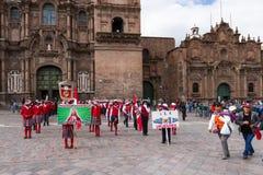 Swearing of the School Police or Juramentacion de la Policia Esc Royalty Free Stock Photos