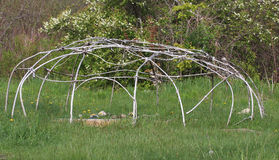 Sweat Lodge Frame Royalty Free Stock Photos