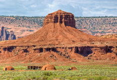 Sweat Lodge Monument Valley Stock Images