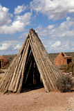 Sweat Lodges Stock Image