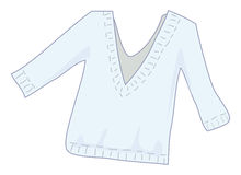 Sweater. Cartoon vector illustration of a sweater Stock Image