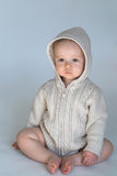 Sweater Baby Royalty Free Stock Photo