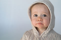 Sweater Baby Stock Photo