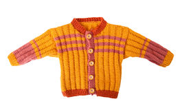 Sweater. For children on a white background Stock Image