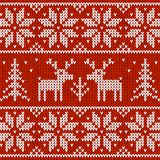 Sweater with deer Royalty Free Stock Image