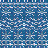 Sweater design. Seamless pattern Royalty Free Stock Photography