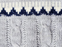 Sweater detail Stock Image