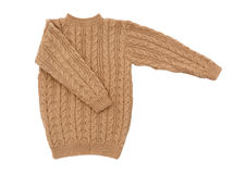 Sweater isolated knit Stock Photography