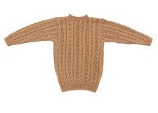 Sweater isolated knit royalty free stock photography