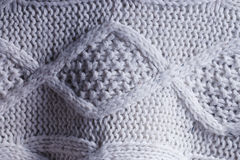 Sweater knitting Stock Photography