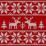 Sweater met herten Stock Fotografie