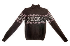 Sweater with pattern Stock Image