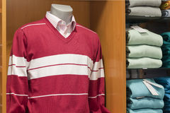 Sweater and shirt Royalty Free Stock Images