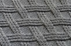Sweater texture close-up. Wool texture Stock Images