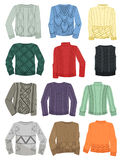 Sweaters with patterns Stock Photography