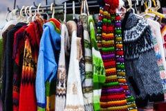 sweaters van alpacawol royalty-vrije stock foto's