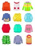 Sweaters voor meisjes vector illustratie
