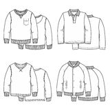 Sweaters white Royalty Free Stock Photos