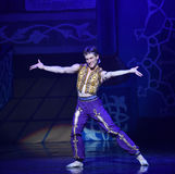 """Sweating actor- ballet """"One Thousand and One Nights"""" stock photos"""