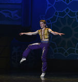 """Sweating actor- ballet """"One Thousand and One Nights"""" stock photo"""