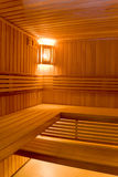 Sweating room in sauna Stock Images