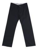 黑sweatpants 库存照片