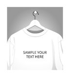 Sweatshirt on the hanger Royalty Free Stock Images