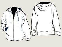 Sweatshirt met een kap Stock Foto