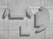 Sweatshirt mockup set Royalty Free Stock Photo