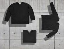 Sweatshirt mockup set Royalty Free Stock Photography