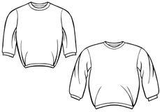 Sweatshirt Set Stock Images