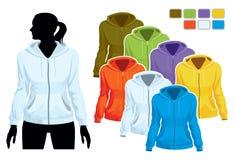 Sweatshirt template Stock Photography