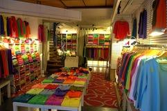 Sweatshirts shop Stock Images